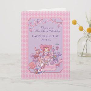 Alice in Wonderland | Folded Birthday Holiday Card