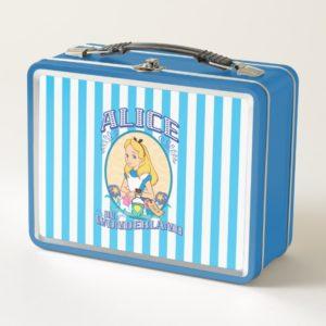 Alice in Wonderland - Frame Metal Lunch Box
