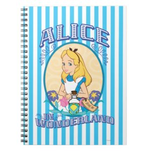 Alice in Wonderland - Frame Notebook
