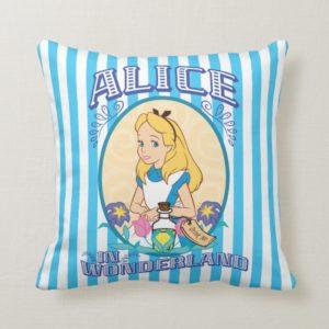 Alice in Wonderland - Frame Throw Pillow