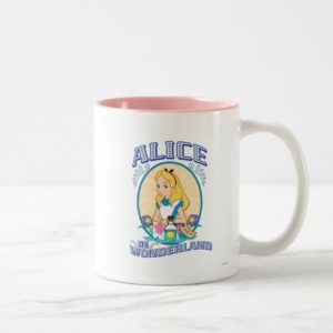 Alice in Wonderland - Frame Two-Tone Coffee Mug