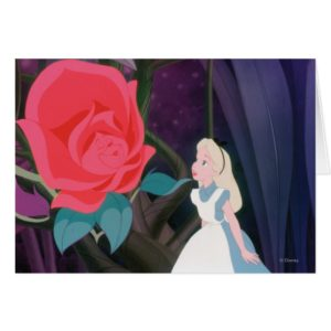 Alice in Wonderland Garden Flower Film Still