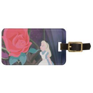 Alice in Wonderland Garden Flower Film Still Bag Tag