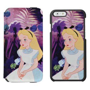 Alice in Wonderland Garden Flowers Film Still Incipio iPhone Wallet Case