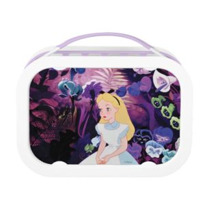Alice in Wonderland Garden Flowers Film Still Lunch Box
