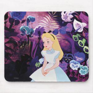 Alice in Wonderland Garden Flowers Film Still Mouse Pad