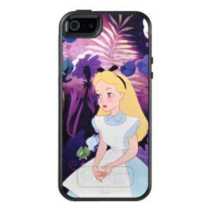 Alice in Wonderland Garden Flowers Film Still OtterBox iPhone Case