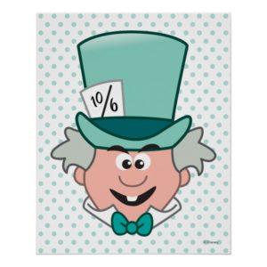 Alice in Wonderland   Mad Hatter Emoji 3 Poster