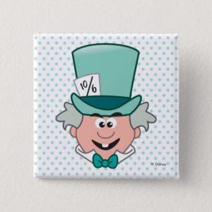 Alice in Wonderland | Mad Hatter Emoji Button