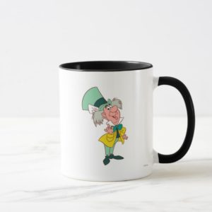Alice in Wonderland Mad Hatter standing talking Mug