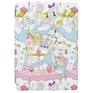 Alice in Wonderland   Oversized Pattern iPad Air Cover