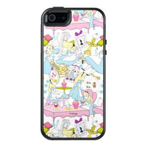 Alice in Wonderland | Oversized Pattern OtterBox iPhone Case