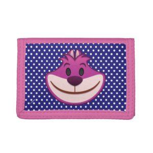 Alice In Wonderland | The Cheshire Cat Emoji Tri-fold Wallet