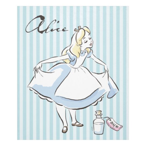 Alice in Wonderland | This Way to Wonderland Fleece Blanket