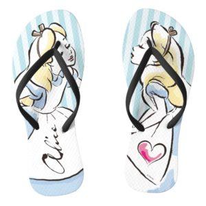 Alice in Wonderland | This Way to Wonderland Flip Flops