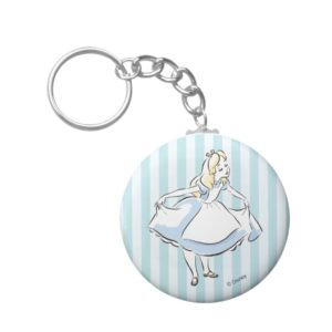 Alice in Wonderland | This Way to Wonderland Keychain