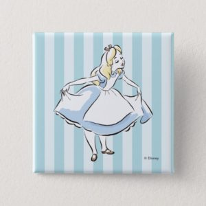 Alice in Wonderland   This Way to Wonderland Pinback Button