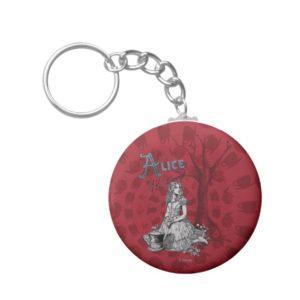 Alice in Wonderland - Tim Burton Keychain