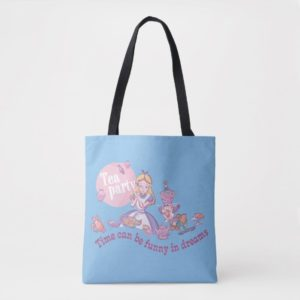 Alice | Time Can Be Funny In Dreams Tote Bag