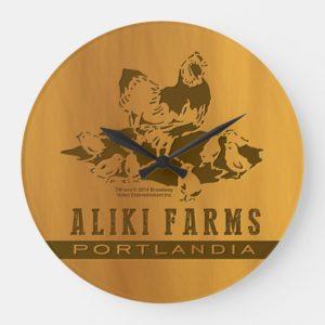 Aliki Farms Large Clock