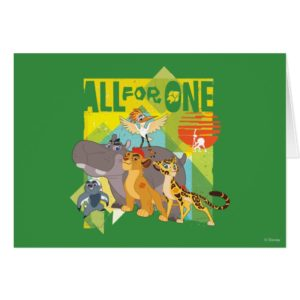 All For One Lion Guard Graphic