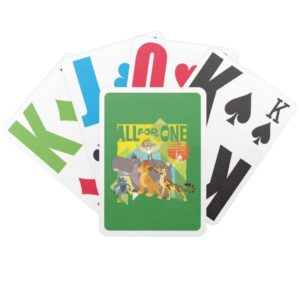 All For One Lion Guard Graphic Bicycle Playing Cards