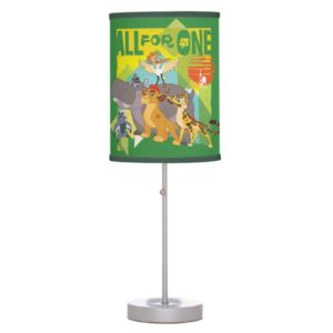 All For One Lion Guard Graphic Desk Lamp