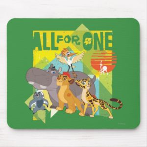 All For One Lion Guard Graphic Mouse Pad
