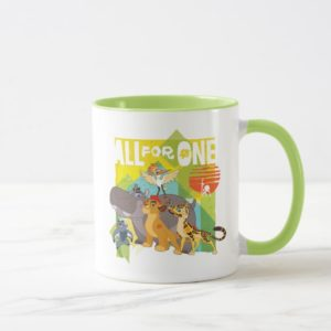 All For One Lion Guard Graphic Mug