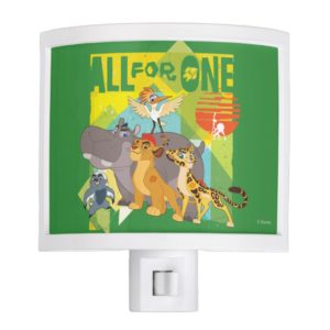 All For One Lion Guard Graphic Night Light