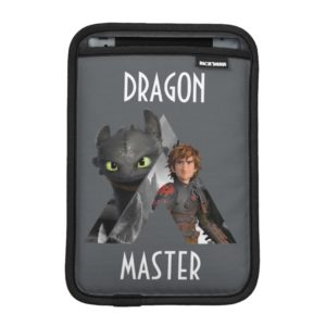 Alpha Dragon Toothless & Hiccup iPad Mini Sleeve