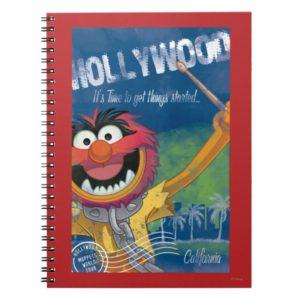 Animal - Hollywood, California Poster Notebook