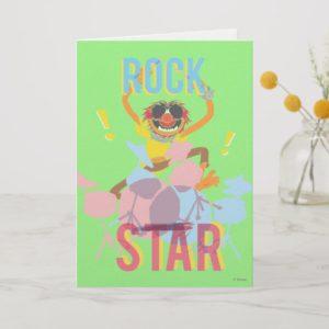 Animal - Rock Star Card