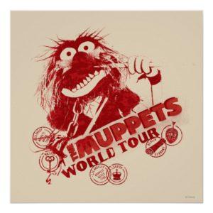 Animal World Tour Poster