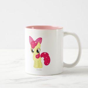 Apple Bloom Two-Tone Coffee Mug