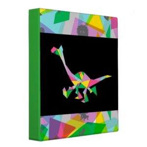 Arlo Abstract Silhouette Binder