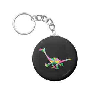 Arlo Abstract Silhouette Keychain