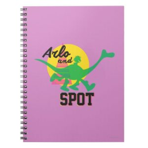 Arlo And Spot Sunset Notebook