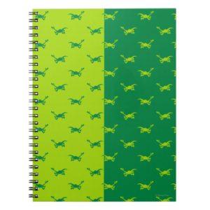 Arlo Half Color Running Notebook