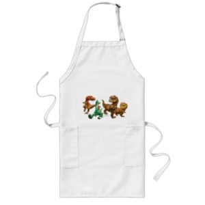 Arlo, Spot, and Ranchers In Field Long Apron