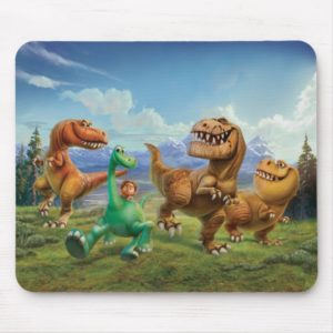 Arlo, Spot, and Ranchers In Field Mouse Pad