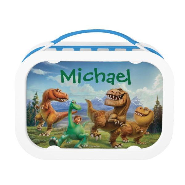 Arlo, Spot, and Ranchers In Field - Personalized Lunch Box