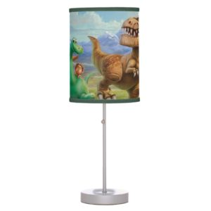 Arlo, Spot, and Ranchers In Field Table Lamp
