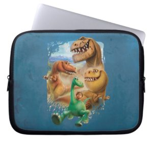 Arlo, Spot, and Ranchers In Forest Laptop Sleeve