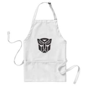 Autobot Shield Solid Adult Apron