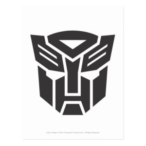 Autobot Shield Solid Postcard