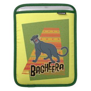 Bagheera With Name and Art iPad Sleeve