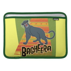 Bagheera With Name and Art MacBook Sleeve