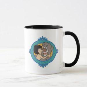 Baloo and Mowgli in a Frame Disney Mug