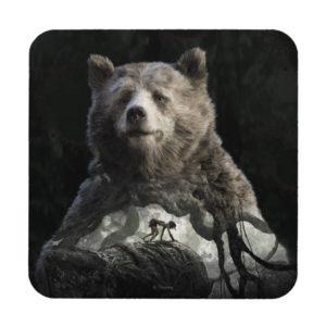 Baloo & Mowgli   The Jungle Book Beverage Coaster